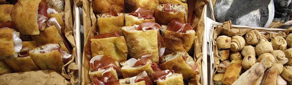 campana catering latina 3 panini